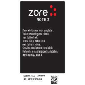 Galaxy Note 2 Zore A Kalite Uyumlu Batarya Galaxy Note 2