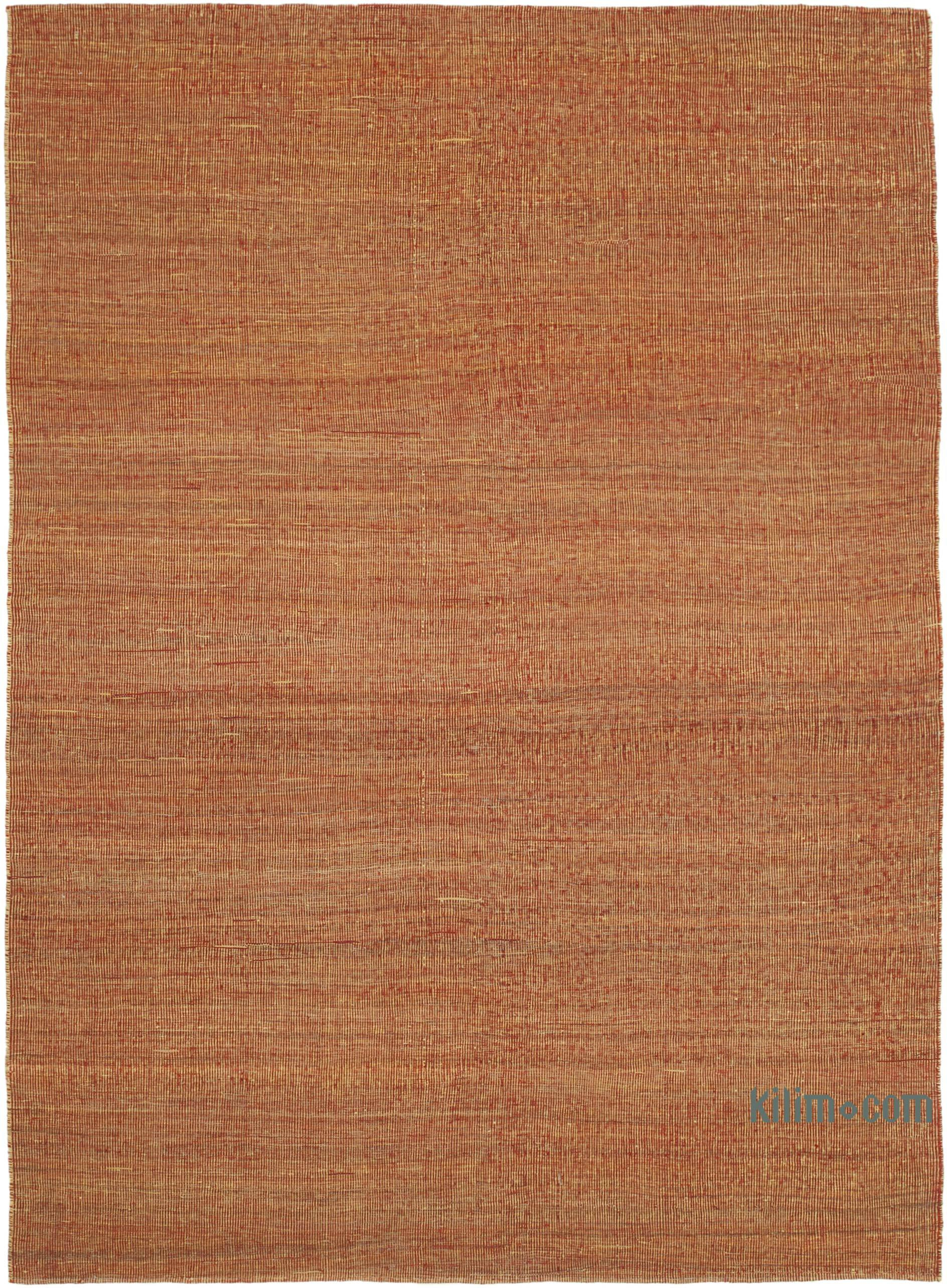 Red Yellow New Contemporary Kilim Rug Z Collection 6 4 X 9 76 In X 108 In