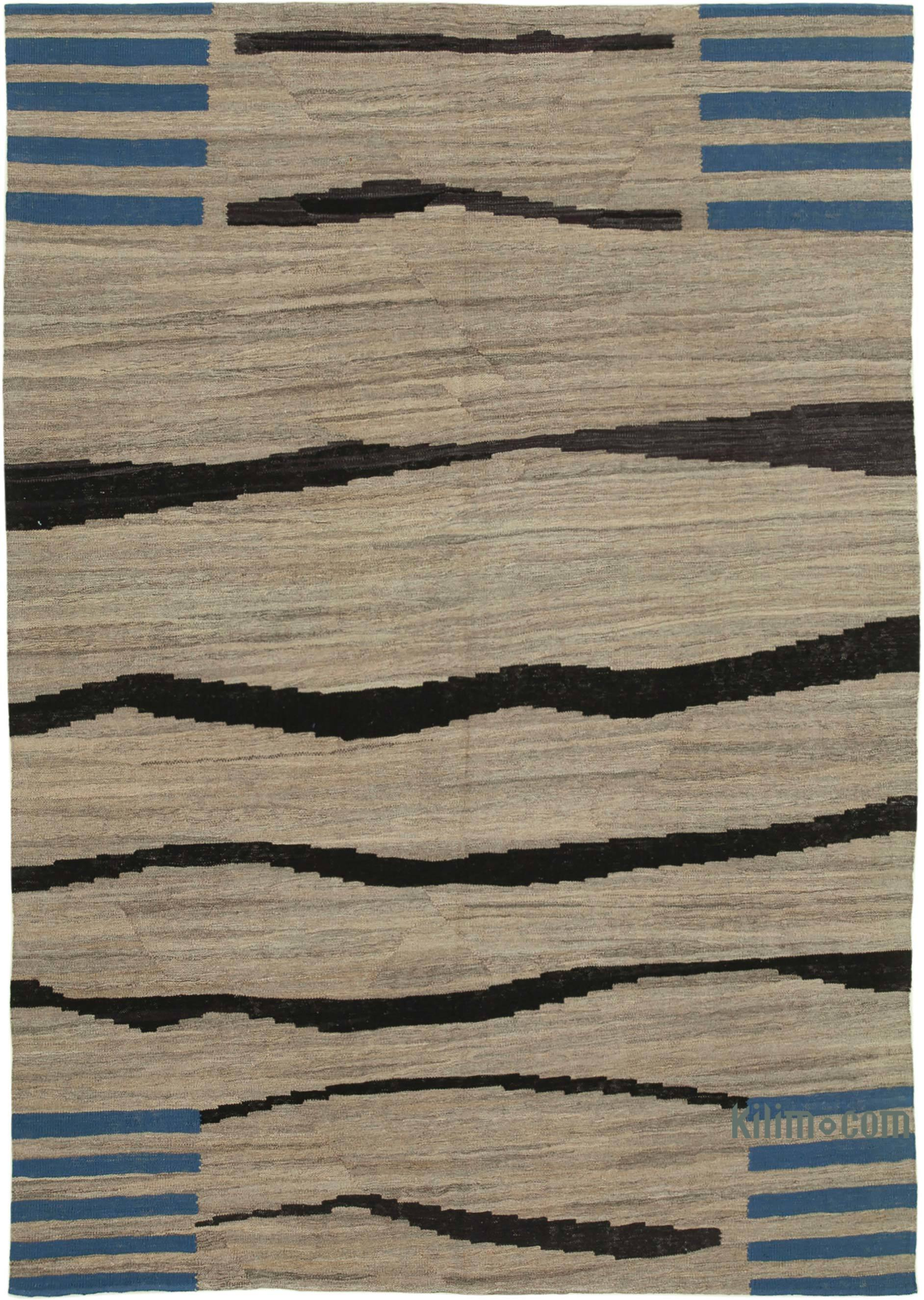 New Contemporary Kilim Rug Z Collection 6 9 X 9 6 81 In X 114 In