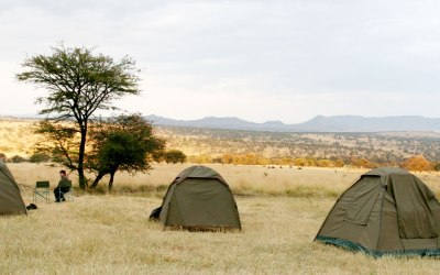 6 DAYS TANZANIA BUDGET MOBILE CAMPING SAFARI