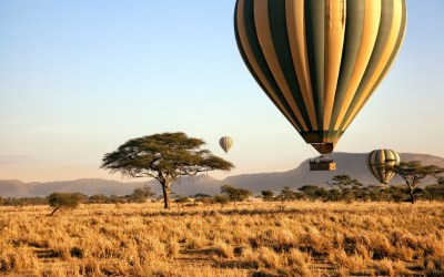 5 DAYS SERENGETI HOT AIR BALLOON SAFARI