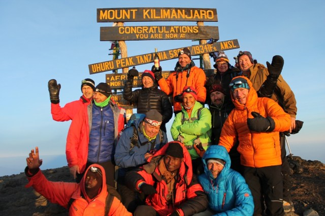 KILIMANJARO JOINING GROUPS IN JAN AND FEB 2020