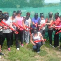 hen party splatball
