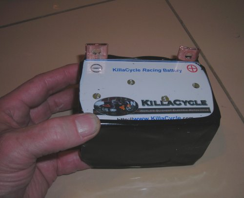 1.5 lb, 12 volt, 240 cranking amp racing battery