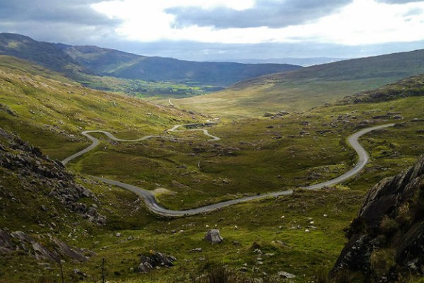 Ring of Beara scenery in Ireland,