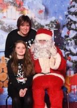 Noirin and Liz Healy visit Santa