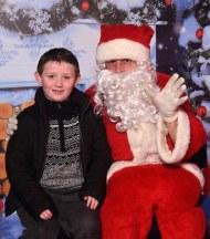 Damien Nagle, Rathmore, met Santa