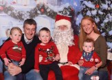 Jerry and Cheryl O'Connell with children Maeve, Tiarnan and Liam
