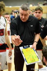 Lakers coach Cormac O'Donoghue talks tactics