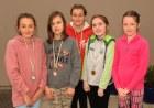 Roxanna Dwornicka, Sara Bozek, Cathy Davies, Alicia Lee and Mia Twomey