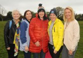 Watching the action were Fiona Crowley, Roisin Moore, Tanya O'Shea, Aoife Twomey and Catriona White