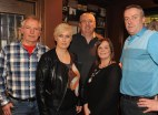 Frank and Jean Courtney, Paul Sheehan, Tracey O'Shea and Cormac O'Donoghue