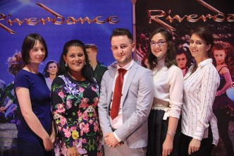 Marketing Department members at the INEC and Gleneagle Hotel, Ceara Scanlon, Valerie Steinbeck, Sean McDermott, Sharon O'Keeffe and Ciara Austen