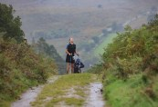 Feeling the pain in the rain: Michael Twyford