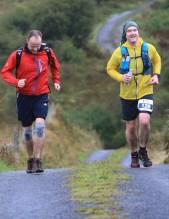 Anthony O'Sullivan (left) and John Kinsella