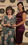 Betty Treacy, Gleneagle Hotel, is the Accommodation Assistant of the Year