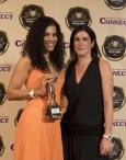 Natalie Bader, Hgiths Hote, with the Editor's Choice Award