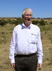 Bishop Browne admires the spectacular countryside in Ethopia