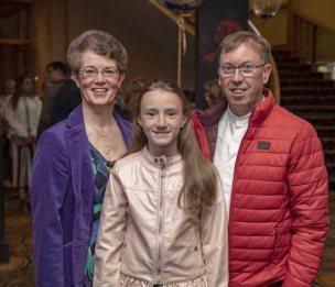 Mary, Rebecca and Liam O'Mahony