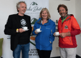Jens Bachem, Reeks District Chair, Josephine O'Driscoll, Fáilte Ireland and John O' Sullivan, The Reeks Guiding Compny at the launch