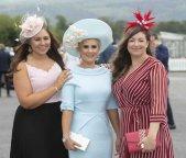 Ciara Walsh, Stacey O'Leary and Christina Murhill
