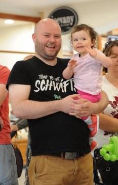 John and Adah O'Brien enjoying the family fun day
