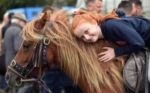 Emma O'Sullivan from Killorglin with her pony Ginger