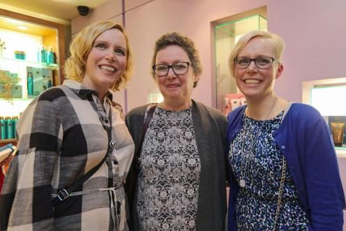 Sarah Riordan, Anne Nash and Kate McSweeney