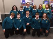 Students from Mercy Mounthawk, Tralee