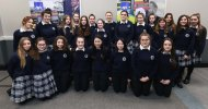 Students from Pres Castleisland