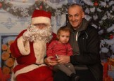 Kitty and Dave Sheehan visited Santa in the Outlet Centre