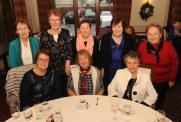 Bernadette Noonan, Maura Gleeson and Maria Doyle with, at back, Eileen O'Connor, Margaret Madigan, Carmel Hickey, Eilish Walsh and Maureen Moynihan