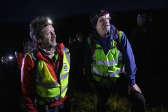 Mountain guides, John O'Sullivan and Donie Mulcahy