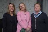 Finolla Whyte and Alison Levins, Fáilte Ireland, Head of Marketing Communications, with Áirne Downing, Fáilte Ireland, Killarney (right)