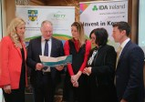 At the launch were from left, Michelle Murphy, Director Collins McNicholas Recruitment and HR Service Group, Ray O'Connor, Regional Manager, IDA, Aoife O'Brien, Project Manager, KerrySkiTech, Moira Murrell, Chief Executive, Kerry County Council and Mark Shorten, IDA Development Officer South West