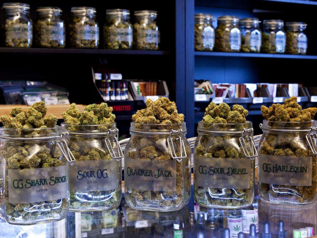medical marijuana store California