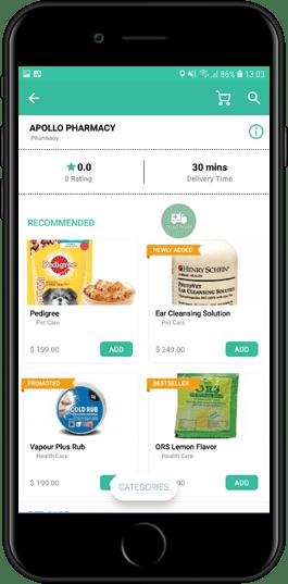 on demand prescription delivery app