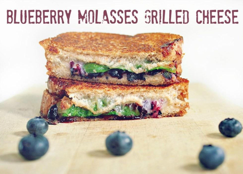 Blueberry molasses header