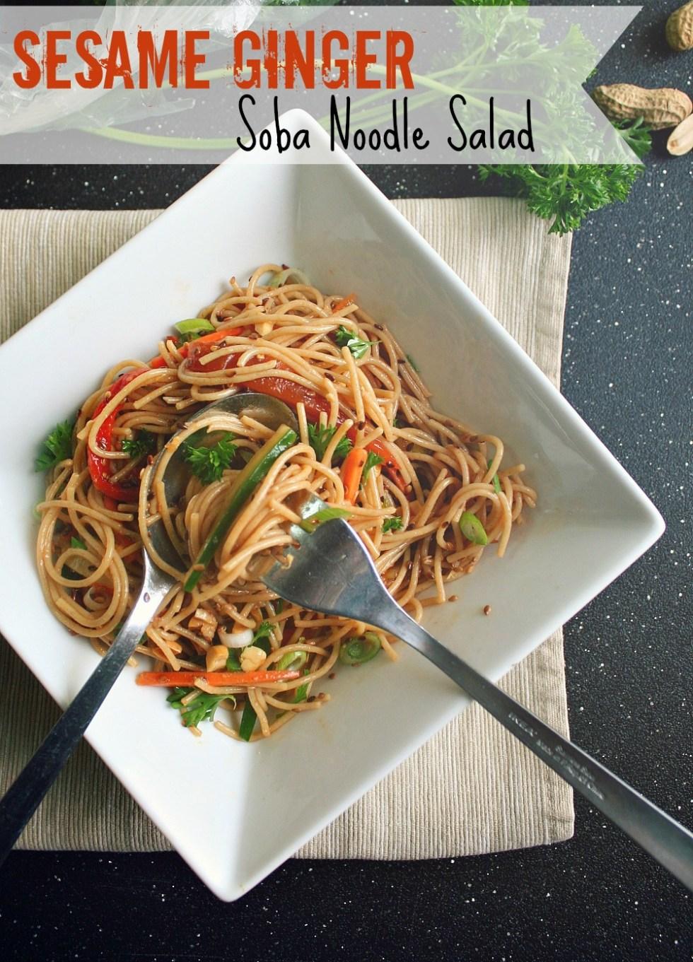 soba noodle salad header