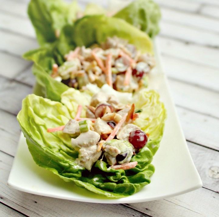 chicken salad lettuce wraps 2