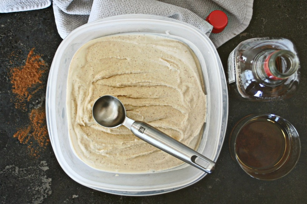 Cinnamon Bourbon Ice Cream 4