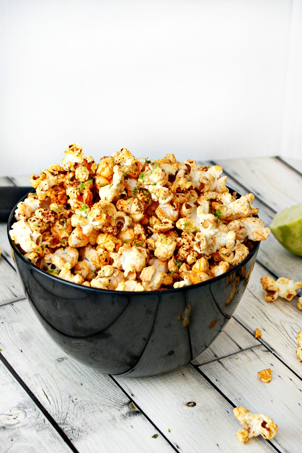 Chili and Lime Popcorn 4