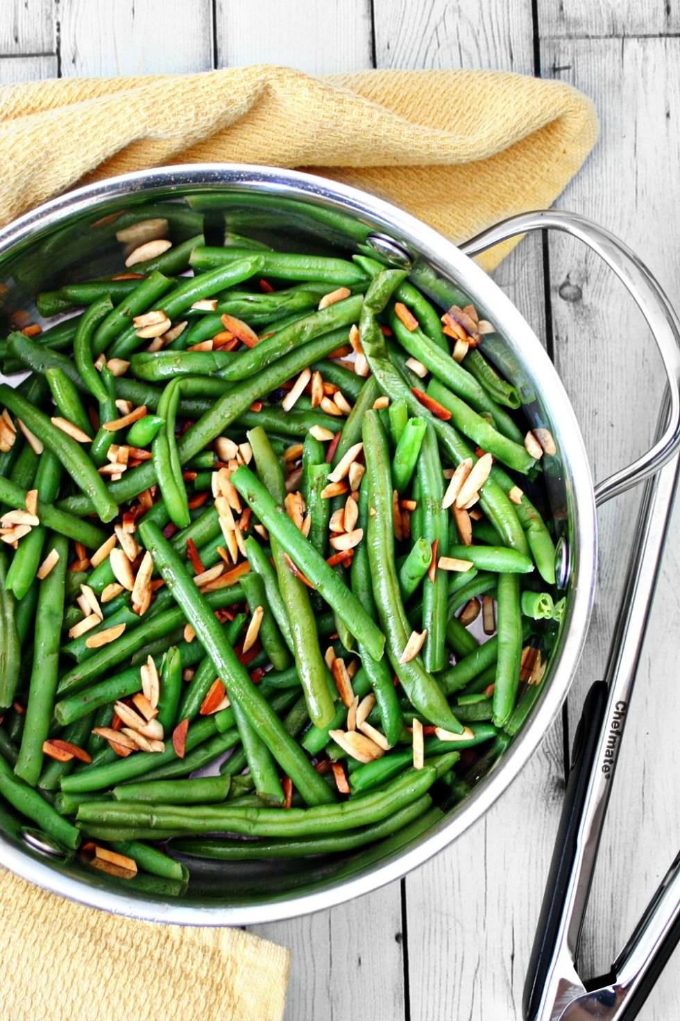 Green Beans Almandine 2