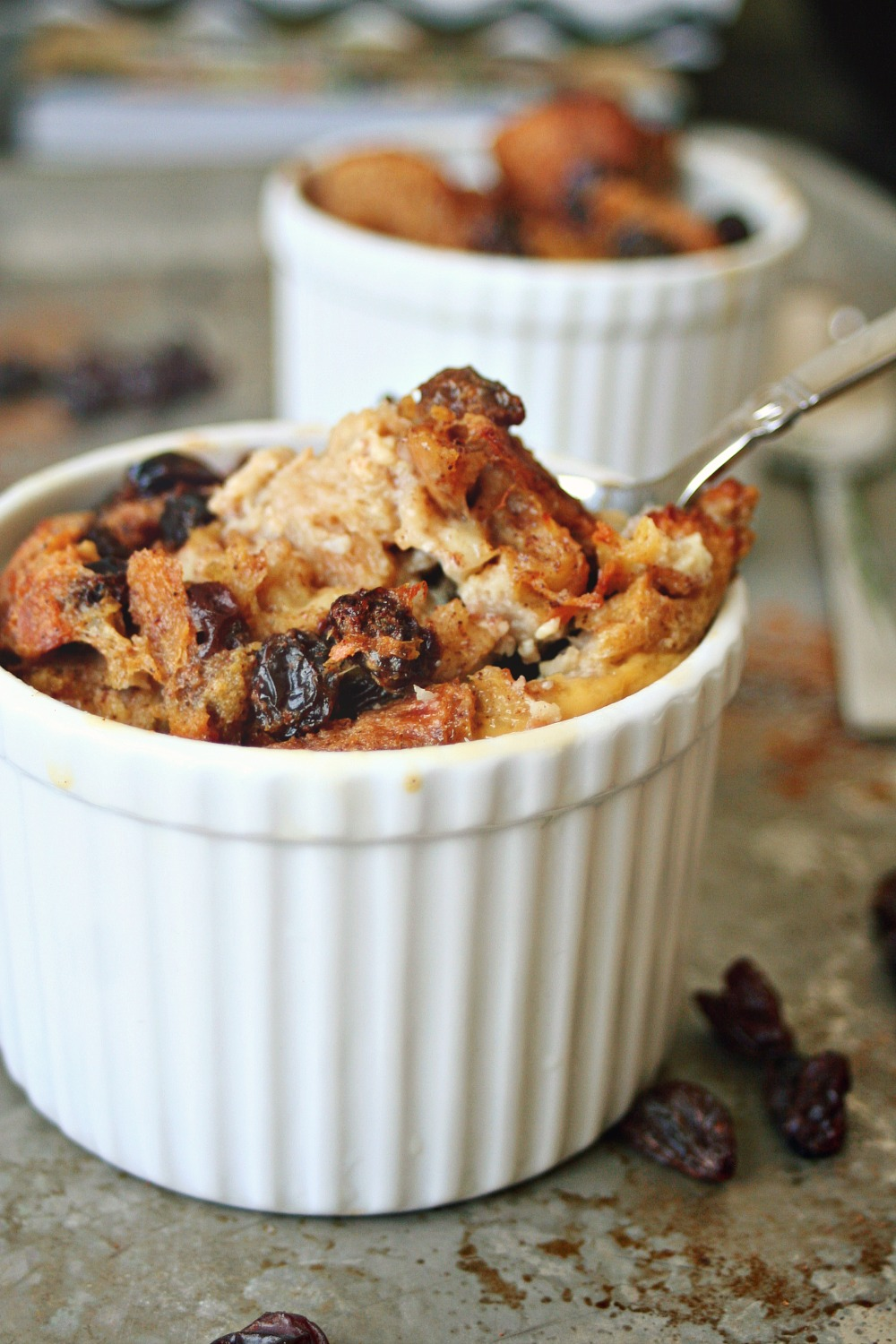 Rum and Raisin Bread Pudding 3
