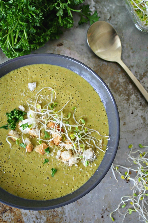 Spring Asparagus Soup 2