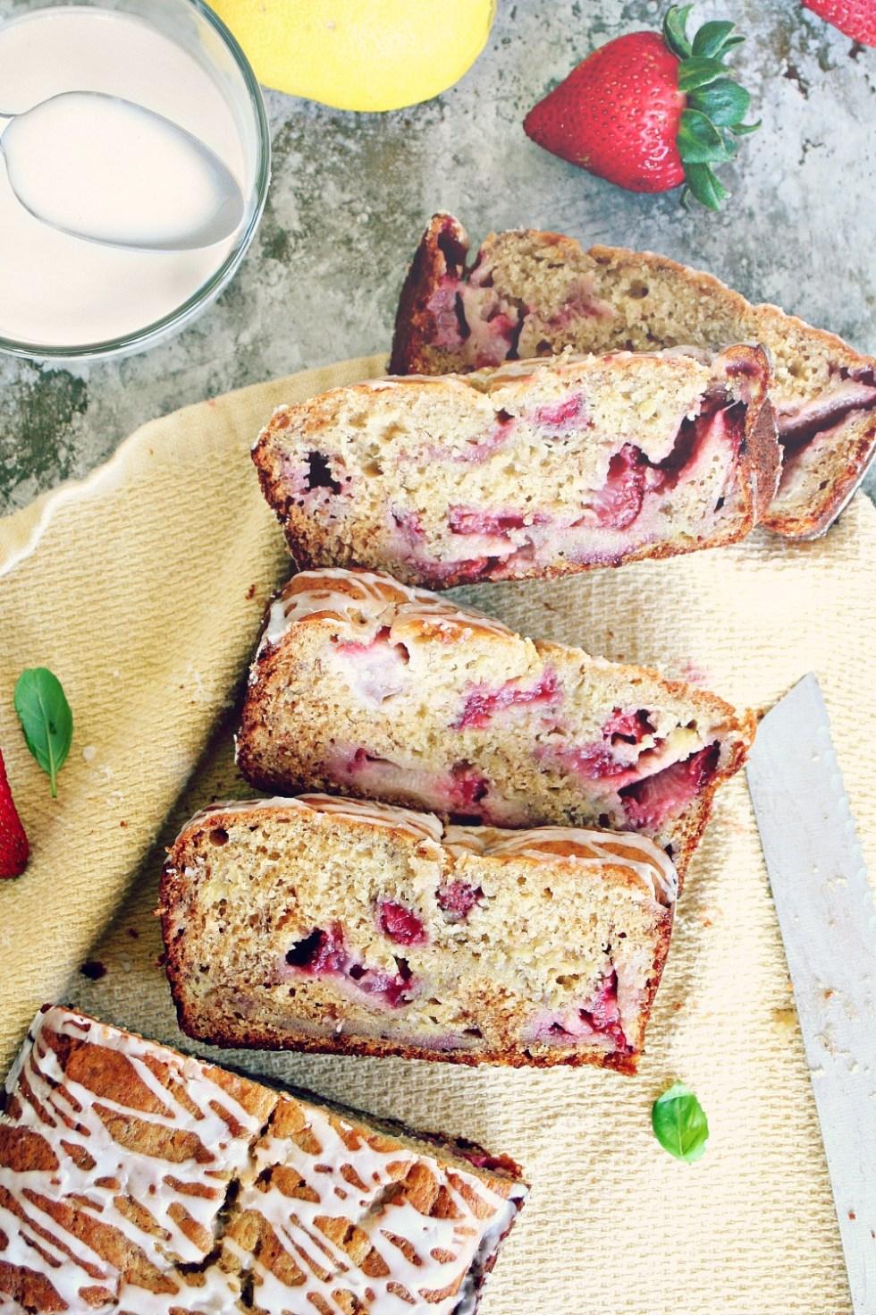 Strawberry Banana Bread 3