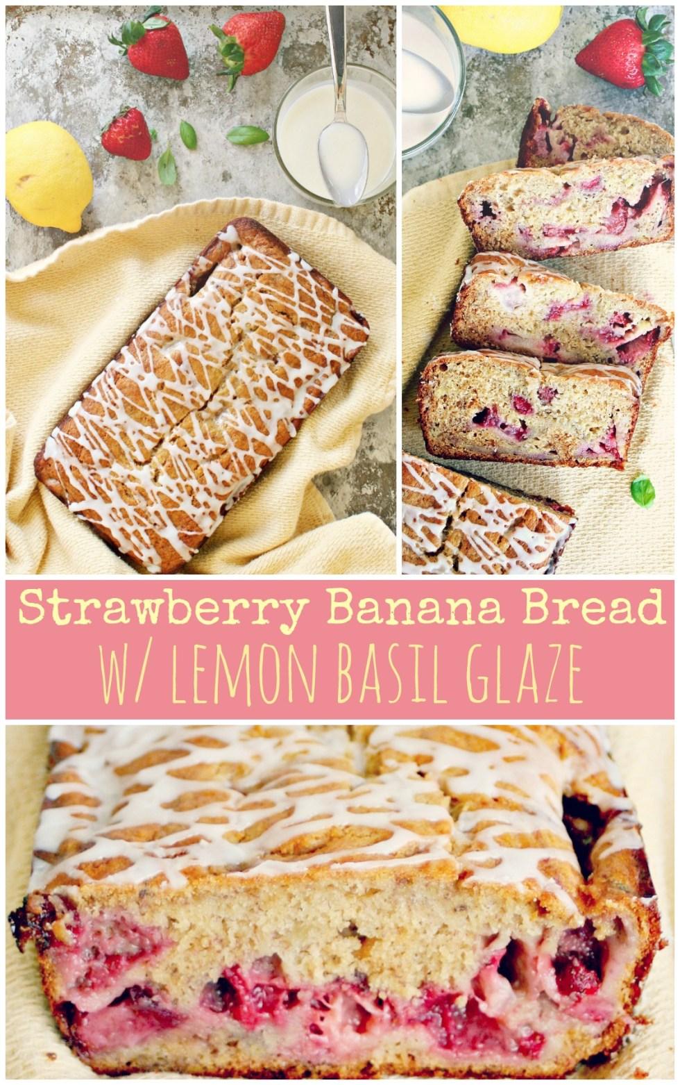 Strawberry Banana Bread!