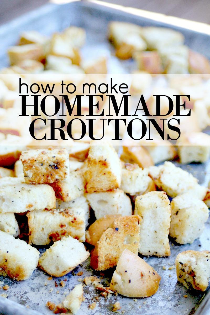 Homemade Croutons 2
