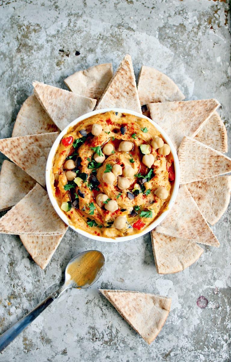 Roasted Vegetable Hummus