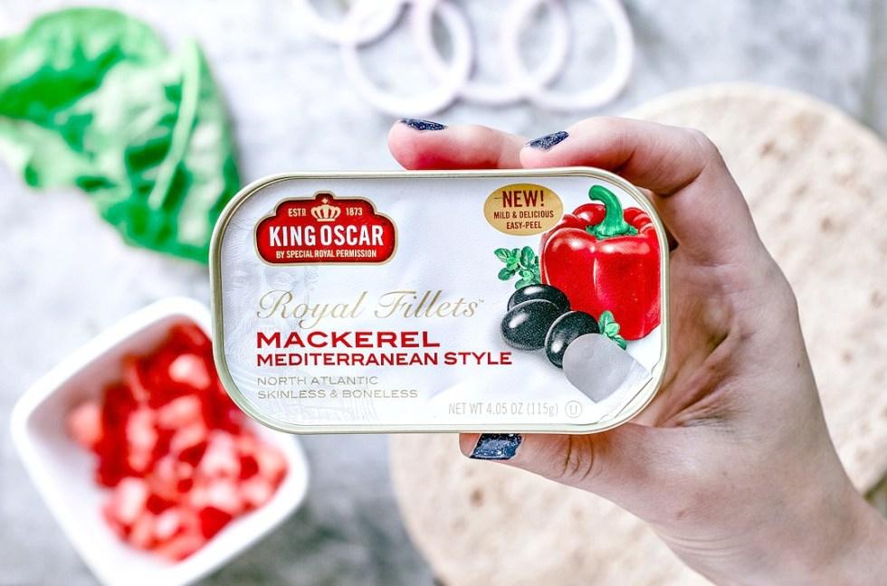 Mediterranean Mackerel Protein Wrap | Killing Thyme